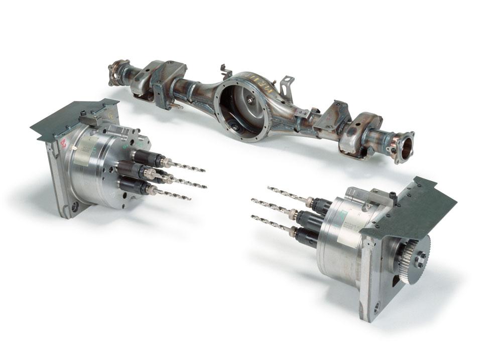 HARU Technique Laboratory Inc.3 Direction Multi-Axis Drilling Machine