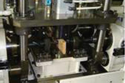 プロペラシャフトヨーク 対向4軸穴明け専用機
