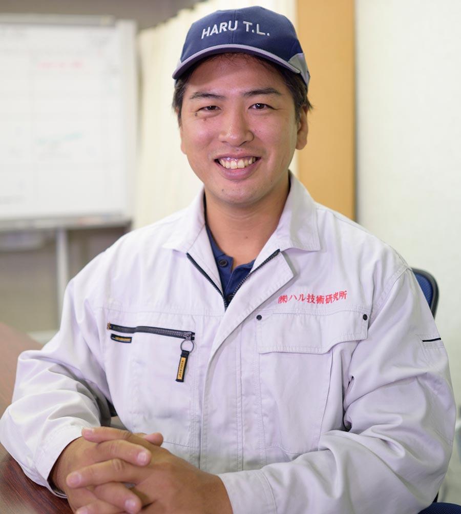 ハル技術研究所代表取締役 万代 晴夫