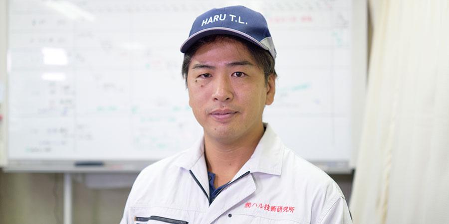 ハル技術研究所営業部 万代 晴夫