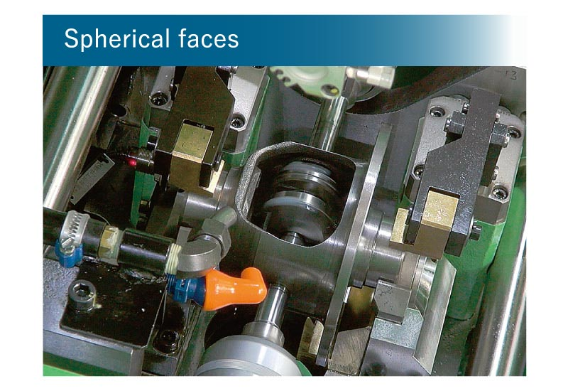 Diff Spherical Surface and End Face Cutting Machine pic.4